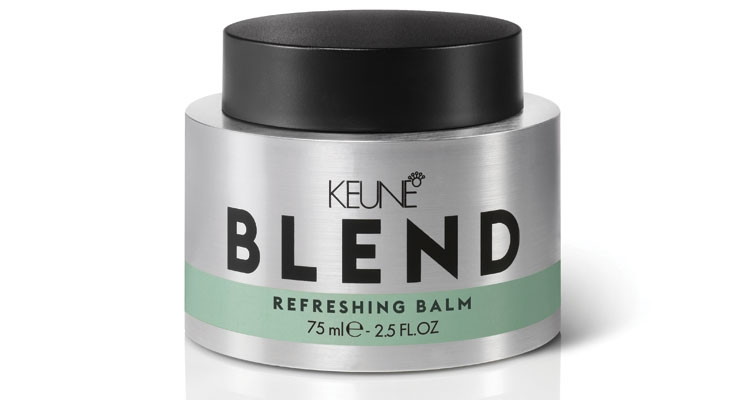 Keune Blend Refreshing Balm  combines dry shampoo and styling balm into one product.