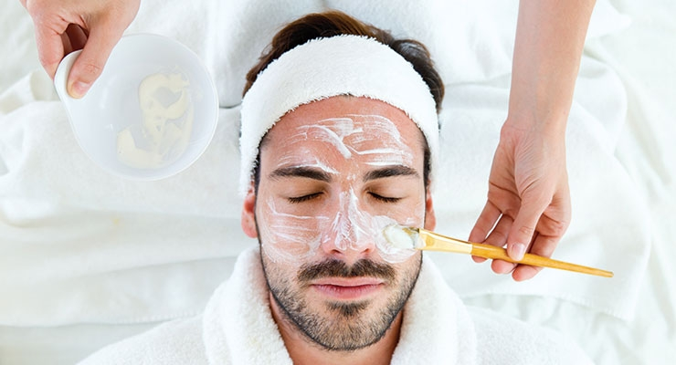 More men are heading to spas, but industry experts say even more can be done to attract guys.