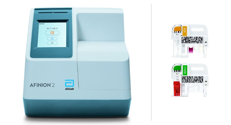 Abbott Launches Afinion 2 Analyzer Rapid Test System for Diabetes Management
