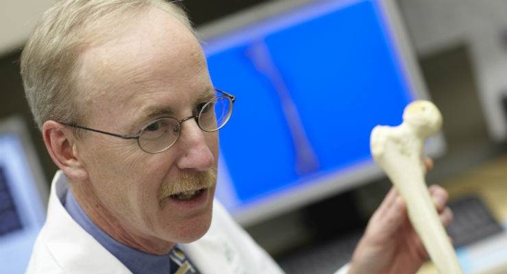 Rick Sumner, Ph.D., senior author of the paper published the Journal of Orthopaedic Research, which detailed the study