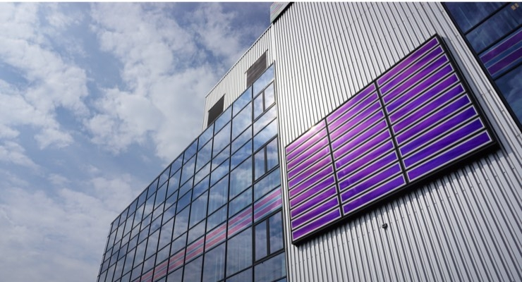 PVme Showcases Sustainable Building Façade