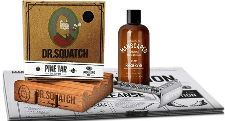Manscaped and Dr. Squatch Soap Co-Create Product