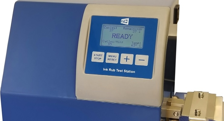 Gardco Introduces the New 10-20 Digital Ink Rub Tester