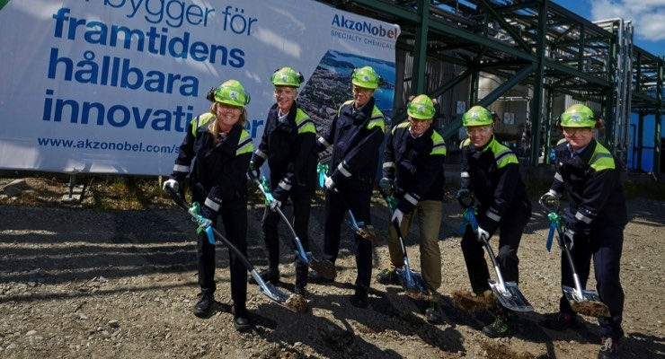 AkzoNobel Specialty Chemicals Building Demo Plant for Ethylene Amines Technology in Sweden