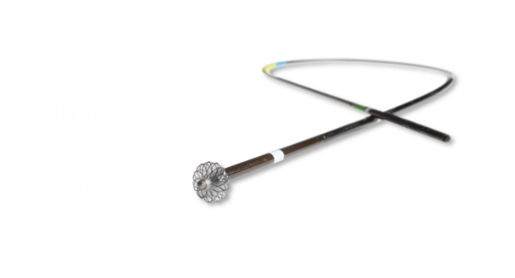 VASCADE VCS is a fully integrated, extravascular, bioabsorbable femoral access closure system. Image courtesy of Cardiva Medical Inc.