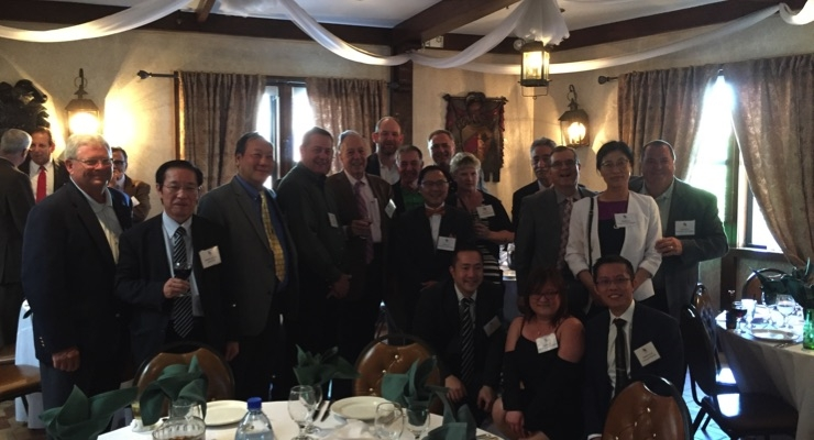 Shamrock Technologies had a strong presence at the MNYPIA Man of the Year Award Dinner honoring VP Joon Choo.