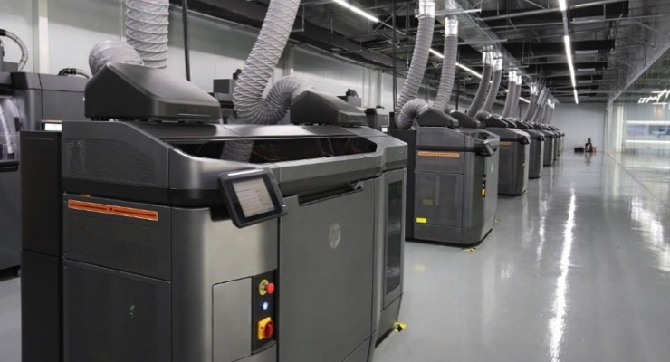 New Production-Grade Multi Jet Fusion 3D Printing Center Unveiled in China