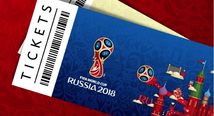2018 FIFA World Cup tickets feature an RFID inlay. (Source: FIFA)