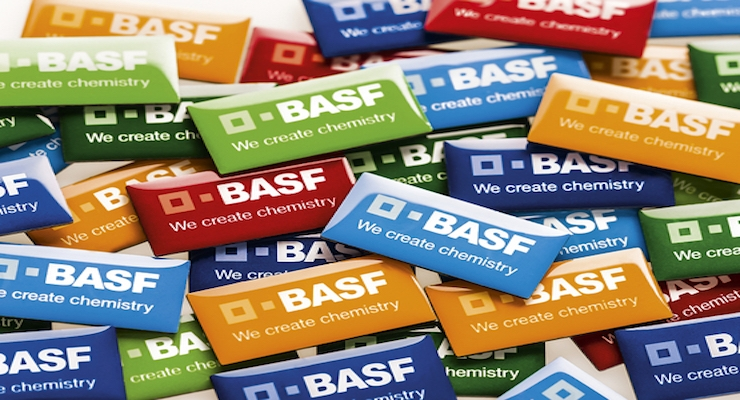 BASF Increases Prices for Bismuth Vanadate Pigments Worldwide