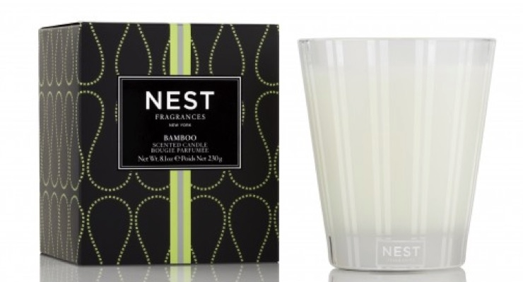 Classic bamboo candle by Nest.