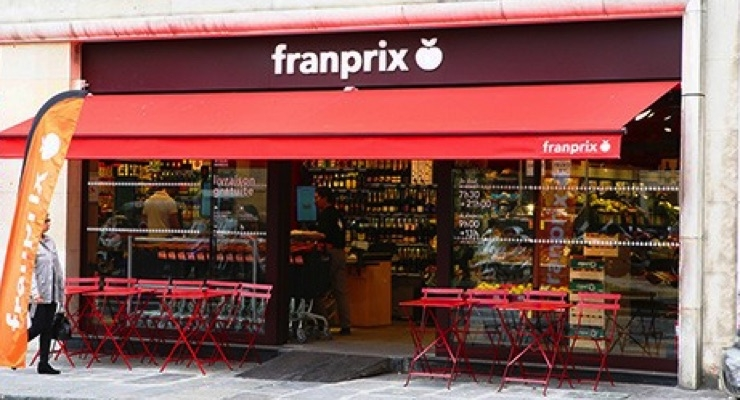Franprix stores are operated by Group Casino