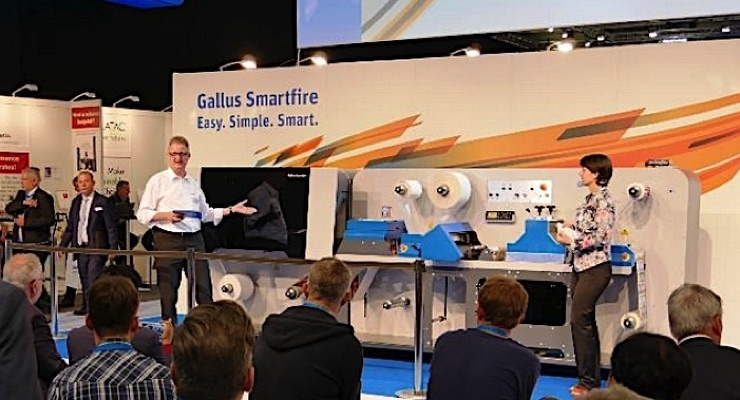 Gallus Launches New Digital Label Press