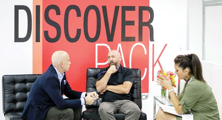 Discover Pack is back at Cosmoprof North America.