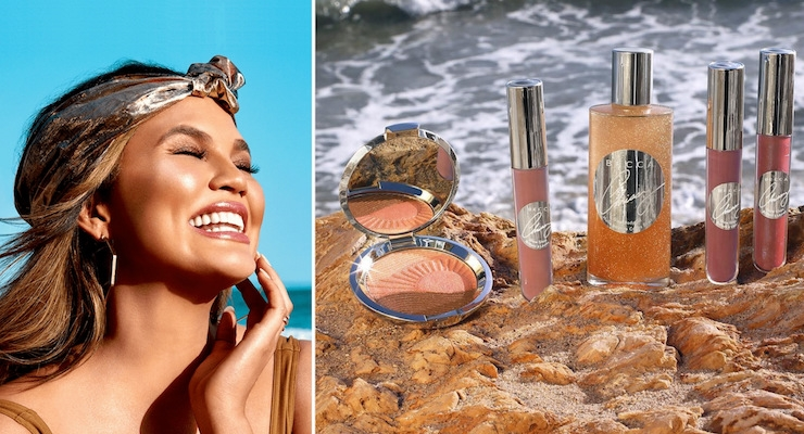 Chrissy Teigen's Makeup Line for Becca Cosmetics Launches Today