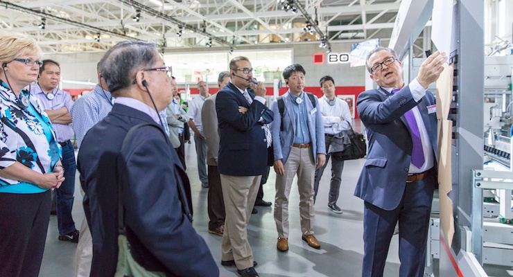 BOBST's Open House Draws Crowd for Demonstrations, Solutions