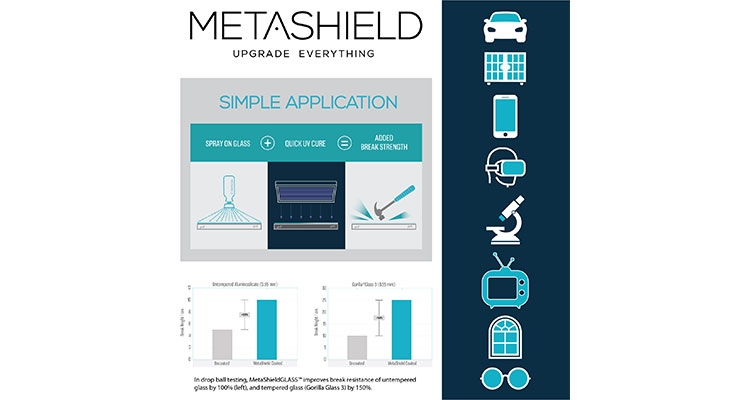 MetaShield: Hair-Thin Coating 'Improves' Break Resistance of Tempered, Untempered Glass
