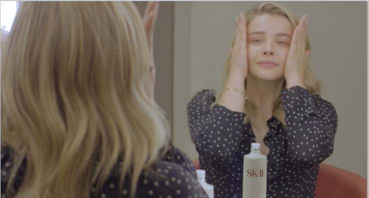 SK-II Partners With Actress Chloe Grace Moretz