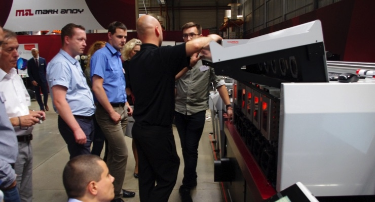 Attendees got the opportunity to view presentations of the Performance Series flexo line, the Digital One toner-based hybrid and the Digital Series.