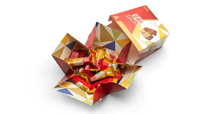 AR Packaging Develops New Kitkat Senses Packaging for Nestlé