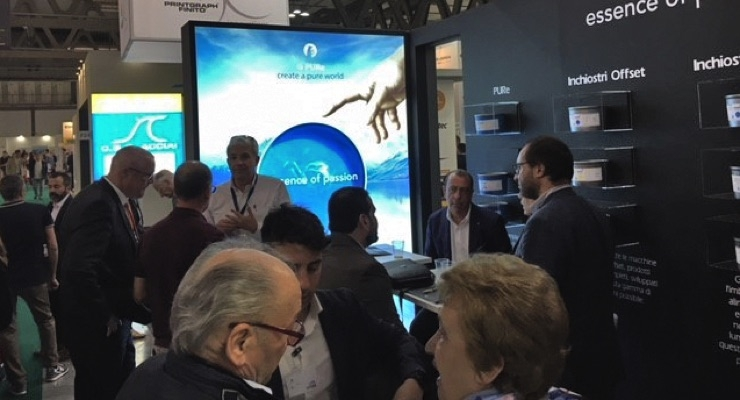 Successful Premiere: Epple Druckfarben Italia at Print4All in Milan