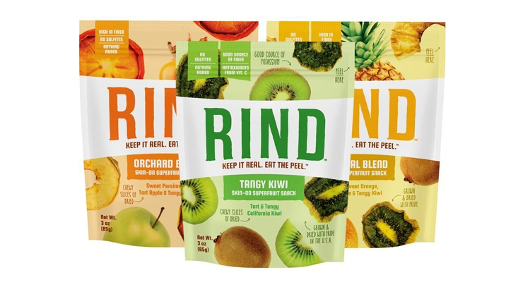 RIND Launches 'Skin-on Superfruit' Dried-Fruit Snacks