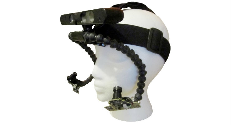 Headset Allows People to Point to Objects of Interest Using Their Eyes
