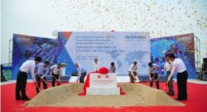 AkzoNobel Specialty Chemicals Breaks Ground on €90-million Organic Peroxide Site in China
