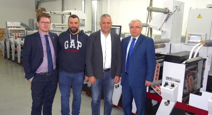 Eidco Labels' new Mark Andy press is the fastest in Lebanon