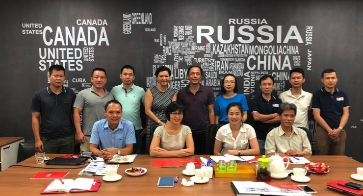 The PPMC team in Vietnam