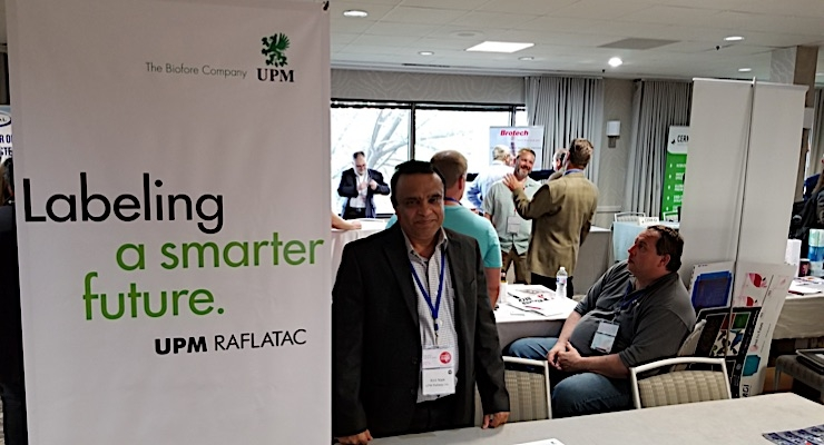 Kirit Naik highlights the benefits of UPM Raflatac