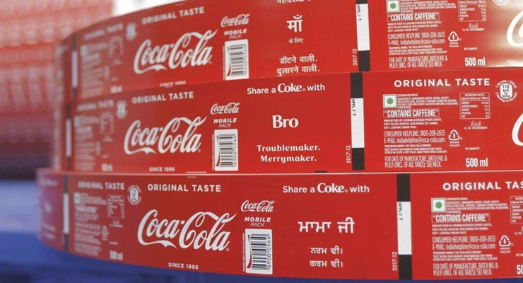 The promotion gives Coca-Cola a way to  connect with its customers in India.