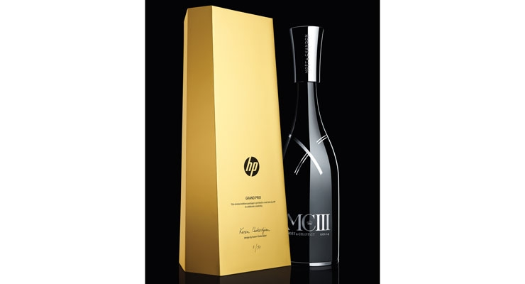 HP produced personalized labels and packaging for Moët & Chandon MCIII – one of France's premier champagnes.