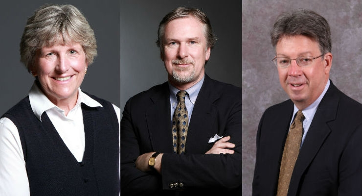 From left to right, Cathy Tempesta, Tom Johansen, and Art Bennert. Images courtesy of GW Plastics.