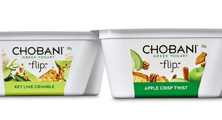 Chobani yogurt ready in a
