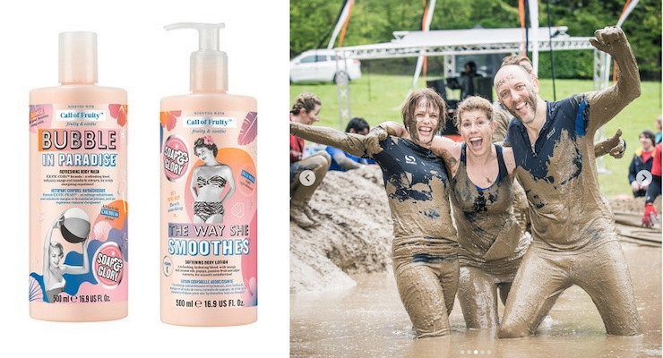 Soap & Glory is Tough Mudder