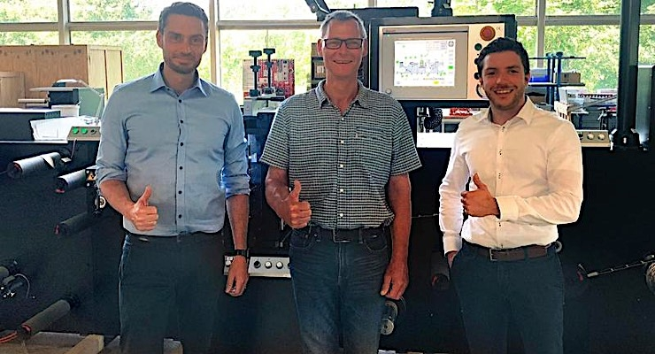 Danish tape converter chooses Rotocontrol