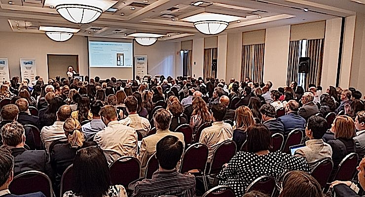 SRO! The Microbiome Congress draws a crowd to Boston.