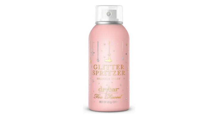 Too Faced Collaborates with Drybar To Launch Glitter Hair Spray