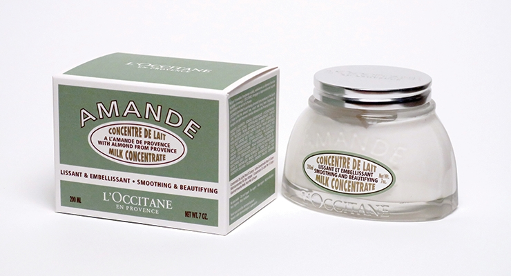 L'Occitane worked with BillerudKorsnäs to create this lightweight but strong carton for its Almond Body Butter.
