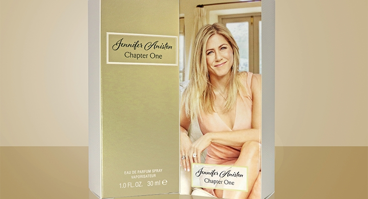 Elizabeth Arden worked with Diamond Packaging to create folding cartons that melded together a combination of color and textures to complement the primary packaging design of the new fragrance, Jennifer Aniston Chapter One.