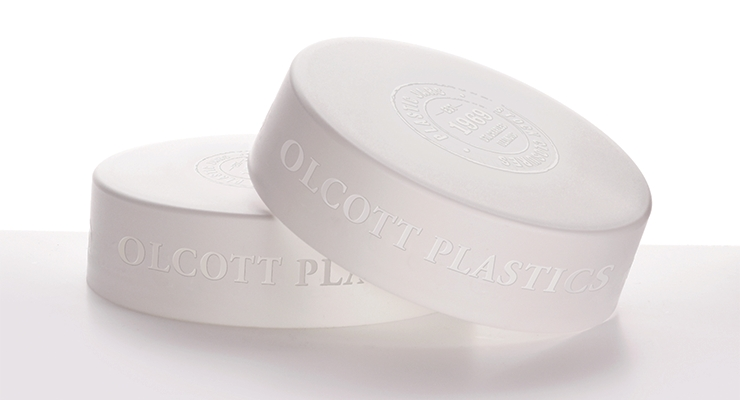 Engraved caps by Olcott Plastics