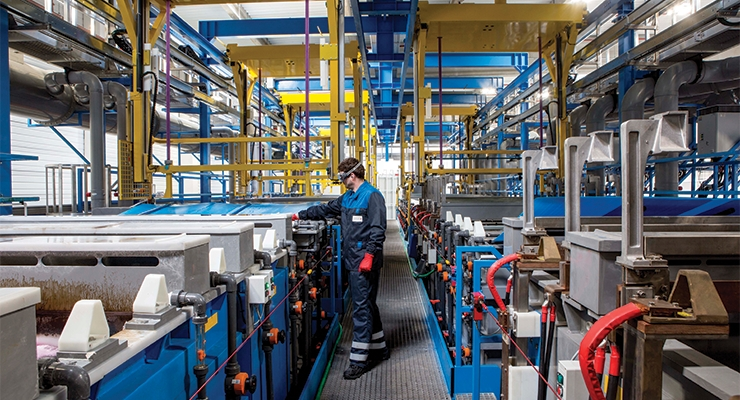 Qualipac is launching a new electroplating line in its Aurillac, France plant.