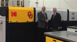Oklahoma University Printing Services Becomes First in US to Install KODAK NEXFINITY
