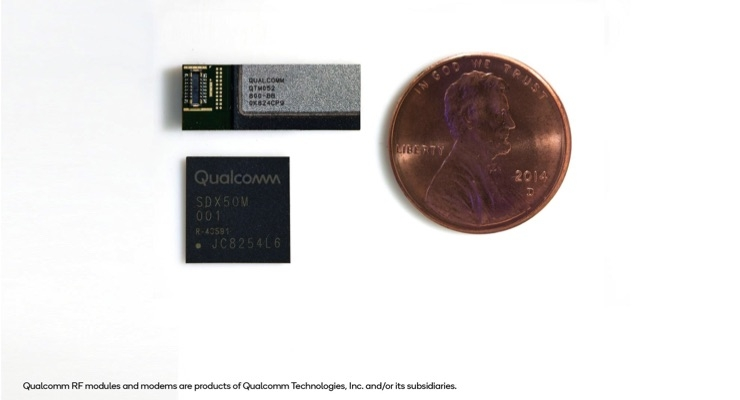 Qualcomm Delivers 5G NR mmWave and Sub-6 GHz RF Modules for Mobile Devices
