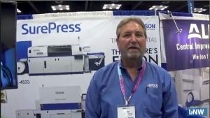 Epson discusses digital printing at INFOFLEX