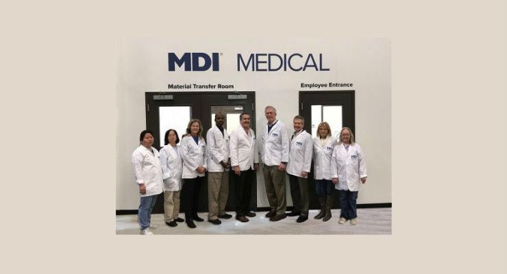 MDI receives ISO 13485:2016 Certification