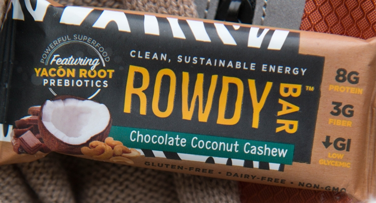 Rowdy Bars Bring Prebiotics to the Snack Aisle