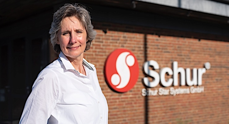 Lene Hoegh Madsen, Schur Star Systems GmbH's prepress manager