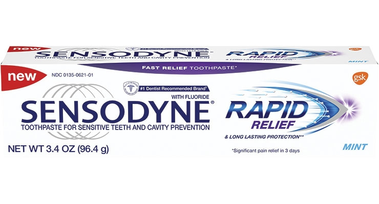 Sensodyne Rapid Relief is a new toothpaste that battles sensitivity in as little as three days with twice daily brushing, according to GSK.