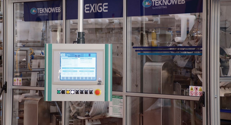 Teknoweb Converting used its experience in the Industry 4.0 concept to launch The Connected Wipes tool last year.